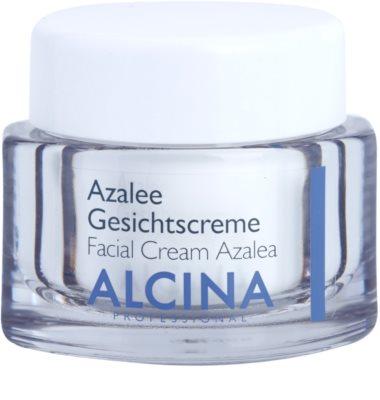 Alcina For Dry Skin Azalee cremă facială  reface bariera protectoare a pielii