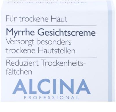 Alcina For Dry Skin Myrrh крем для обличчя проти розтяжок та зморшок 2
