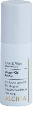 Alcina Effective Care gel de contorno de olhos com efeito resfrescante