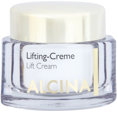 Alcina Effective Care crema con efecto lifting para tensar la piel