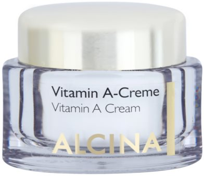 Alcina Effective Care crema facial con vitamina A antiarrugas