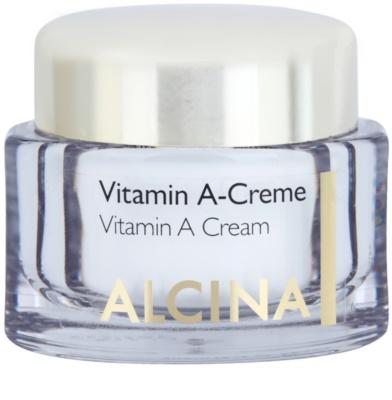 Alcina Effective Care Gesichtscreme mit Vitamin A für langhaltige Reduzierung von Falten