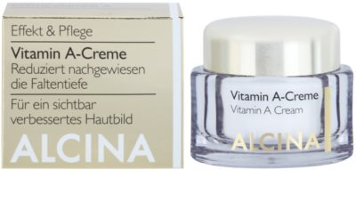 Alcina Effective Care pleťový krém s vitamínem A pro dlouhodobou redukci vrásek 1