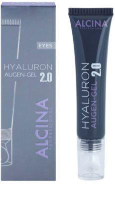 Alcina Hyaluron 2.0 gel za predel okoli oči z gladilnim učinkom 1