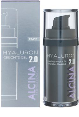 Alcina Hyaluron 2.0 żel do twarzy o działaniu wygładzającym 3