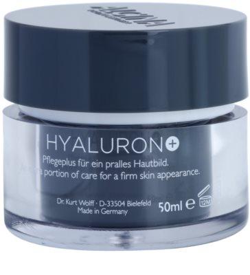 Alcina Hyaluron + crema facial con efecto alisante