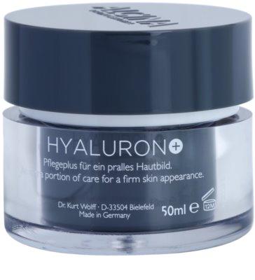 Alcina Hyaluron + crema pentru ten  cu efect de netezire