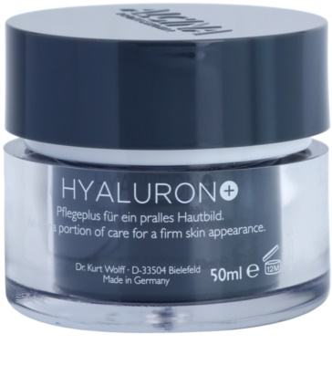 Alcina Hyaluron + крем для обличчя з розгладжуючим ефектом