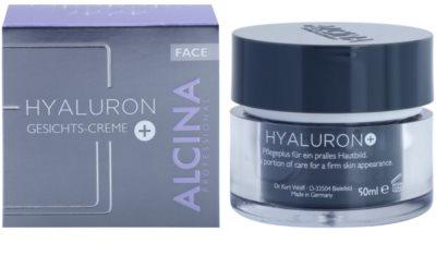 Alcina Hyaluron + creme facial com efeito alisador 1