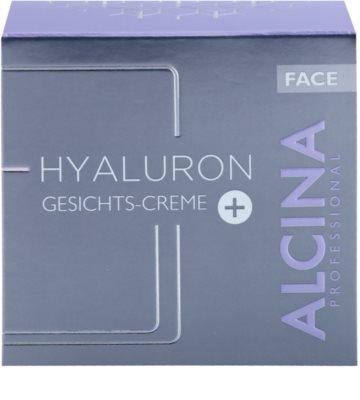 Alcina Hyaluron + creme facial com efeito alisador 2