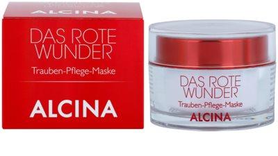 Alcina The Red Miracle поживна маска з екстрактом винограду 1