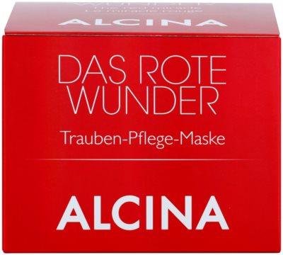 Alcina The Red Miracle поживна маска з екстрактом винограду 2