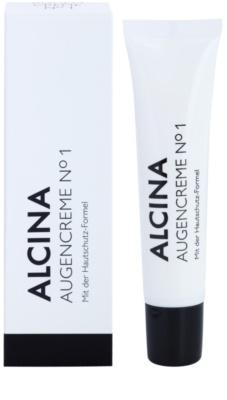 Alcina N°1 krem pod oczy o działaniu przeciwzmarszczkowym 1