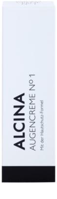 Alcina N°1 krem pod oczy o działaniu przeciwzmarszczkowym 2