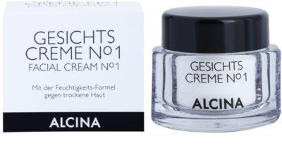 Alcina N°1 крем для обличчя зі зволожуючим ефектом 1
