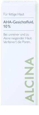 Alcina For Oily Skin Gesichtsfluid mit AHA Säuren 10% 2