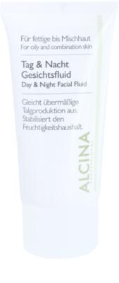 Alcina For Oily Skin dnevni in nočni fluid za zmanjšanje seboreja
