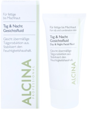 Alcina For Oily Skin Faggyúmirigy kontroláló nappali és éjszakai folyadék. 1