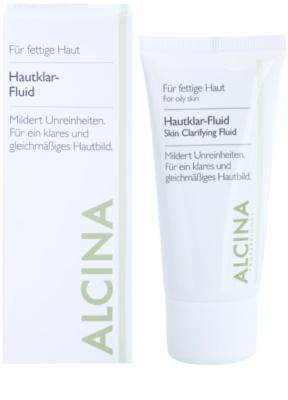 Alcina For Oily Skin fluido de hierbas para iluminar la piel 1