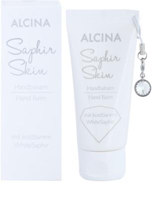 Alcina Saphir Skin balzsam a kezekre hidratáló hatással 1