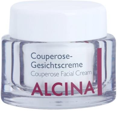 Alcina For Sensitive Skin подсилващ крем за разширени и спукани капиляри