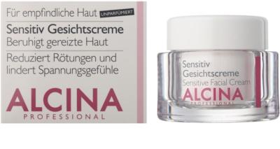 Alcina For Sensitive Skin zklidňující pleťový krém 1