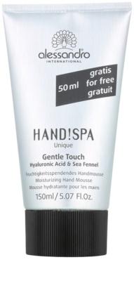 Alessandro Hand! Spa Unique Gentle Touch зволожуюча пінка для рук