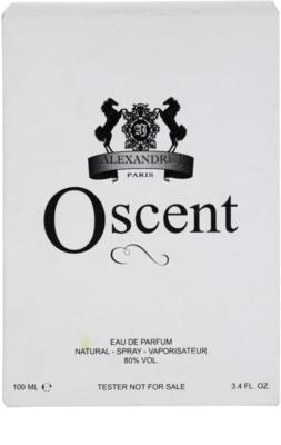 Alexandre.J Oscent Black eau de parfum teszter unisex 1