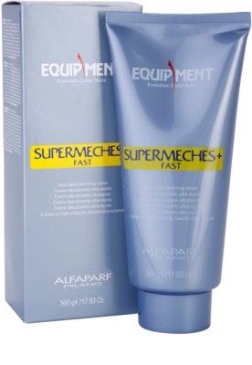 Alfaparf Milano Equipment crema aclaradora para cabello 1