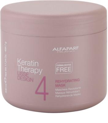 Alfaparf Milano Lisse Design Keratin Therapy рехидратираща маска за всички видове коса