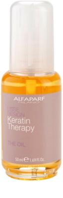 Alfaparf Milano Lisse Design Keratin Therapy ulei hranitor pentru toate tipurile de par