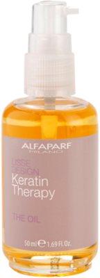 Alfaparf Milano Lisse Design Keratin Therapy odżywczy olejek do wszystkich rodzajów włosów 1