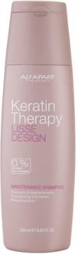 Alfaparf Milano Lisse Design Keratin Therapy jemný čisticí šampon bez sulfátů a parabenů