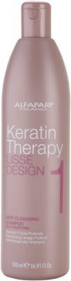 Alfaparf Milano Lisse Design Keratin Therapy globinsko čistilni šampon za vse tipe las