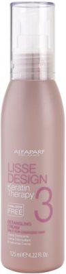 Alfaparf Milano Lisse Design Keratin Therapy Creme für thermische Umformung von Haaren