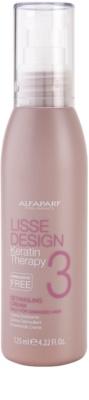 Alfaparf Milano Lisse Design Keratin Therapy крем за топлинно третиране на косата