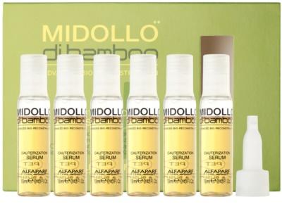 Alfaparf Milano Midollo di Bamboo ser pentru par degradat sau tratat chimic