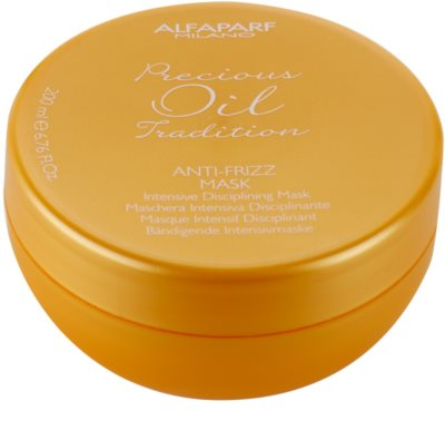Alfaparf Milano Precious Oil Tradition интензивна маска за коса против цъфтене
