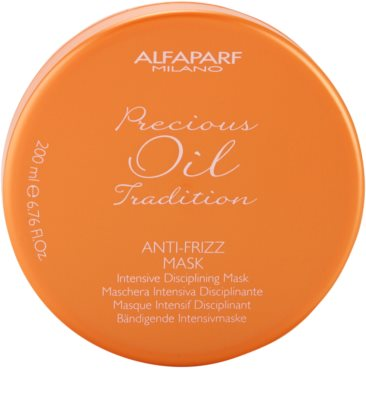 Alfaparf Milano Precious Oil Tradition интензивна маска за коса против цъфтене 1