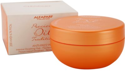Alfaparf Milano Precious Oil Tradition интензивна маска за коса против цъфтене 2