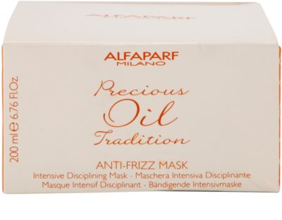 Alfaparf Milano Precious Oil Tradition интензивна маска за коса против цъфтене 4