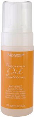 Alfaparf Milano Precious Oil Tradition spuma pentru formarea buclelor