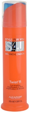Alfaparf Milano Style for You (S4U) fluid pro vlnité vlasy