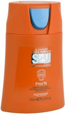 Alfaparf Milano Style for You (S4U) gel para el cabello fijación extra fuerte