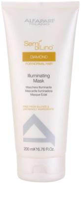Alfaparf Milano Semí Dí Líno Diamante Illuminating маска  за блясък и мекота на косата