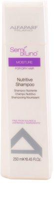 Alfaparf Milano Semí Dí Líno Moisture Shampoo mit ernährender Wirkung für trockenes Haar