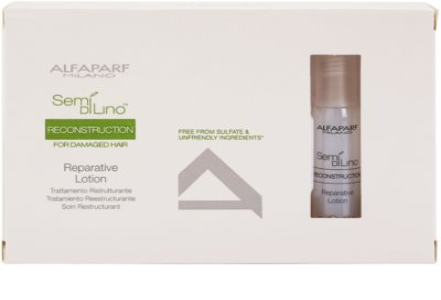 Alfaparf Milano Semí Dí Líno Reconstruction tratamiento regenerador para cabello maltratado o dañado 2
