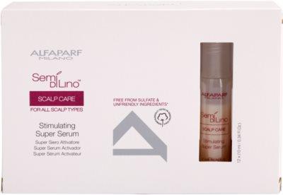 Alfaparf Milano Semí Dí Líno Scalp Care sérum estimulante para cabelos fortes