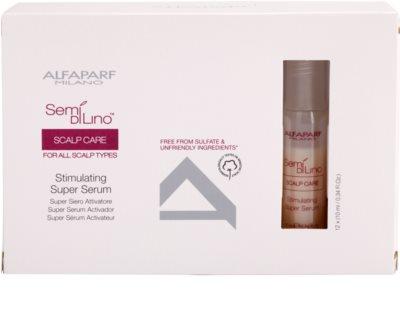 Alfaparf Milano Semí Dí Líno Scalp Care sérum estimulante  para dar fuerza al cabello