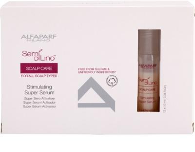 Alfaparf Milano Semí Dí Líno Scalp Care stimulující sérum pro posílení vlasů
